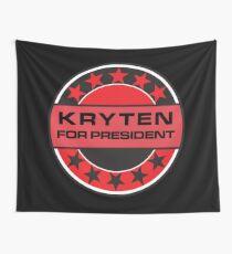 Kryten For President Wall Tapestry