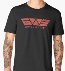 Weyland Corp - Distressed Red Men's Premium T-Shirt