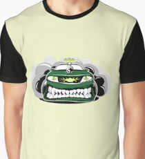 I.T. Movie Eddie's Eddy's Angry Car Shirt Graphic T-Shirt