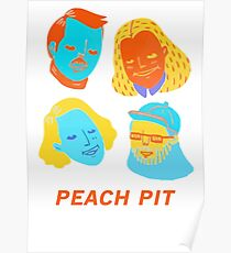 Peach Band Poster