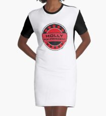 Holly For President Graphic T-Shirt Dress