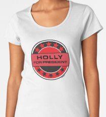 Holly For President Women's Premium T-Shirt