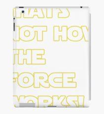 Han Solo Quote iPad Case/Skin