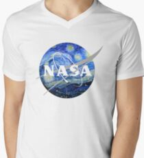 NASA Art Starry Night  T-Shirt