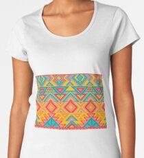 Stunning Triangle Aztec  Women's Premium T-Shirt