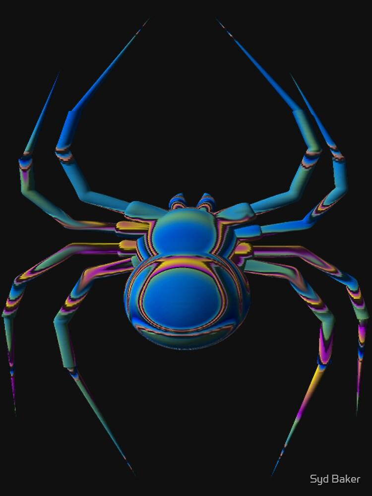 Psychadelic Spider by sbaker5