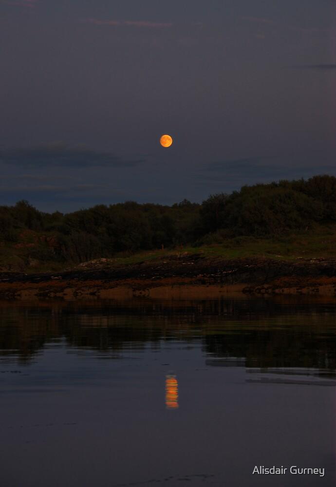 Harvest Moon by Alisdair Gurney
