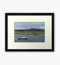 MV Hebrides Framed Print
