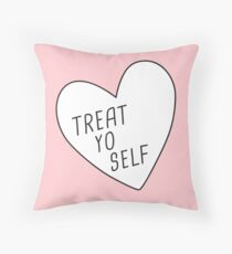 Behandle dich selbst Kissen