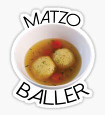 Matzo Baller Sticker