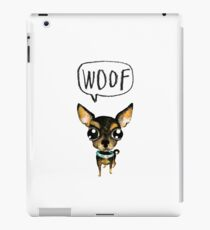 Cute chihuahua iPad Case/Skin