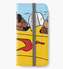 Tintin in plane iPhone Wallet/Case/Skin
