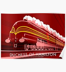 Duchess of Hamilton Poster