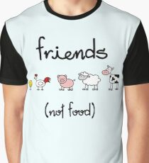 Friends (not food) Graphic T-Shirt