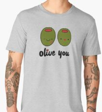 Olive You  Men's Premium T-Shirt
