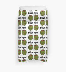 Olive You  Duvet Cover