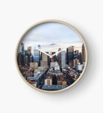 New York City Skyline Clock