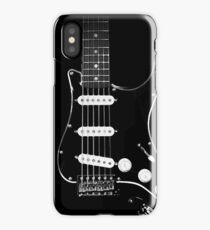 black glowstrings  iPhone Case
