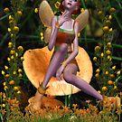 Mushroom Fairy Collaboration with Dougie1 by EnchantedDreams