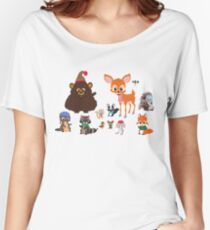 Woodland Critters Women's Relaxed Fit T-Shirt