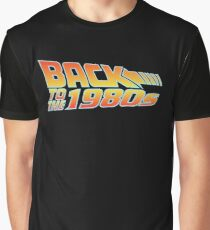 1980's Series Back to the 1980's Graphic T-Shirt
