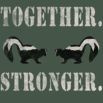 Together (We Smell) Stronger by fructosebat