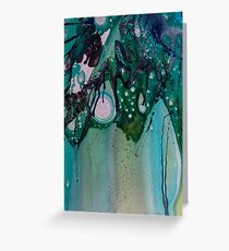 Paints and Inks Greeting Card
