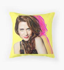 Kristen Wiig SNL Portrait Throw Pillow