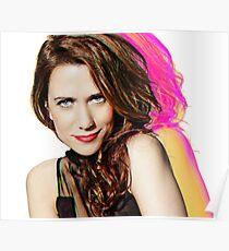 Kristen Wiig SNL Portrait Poster