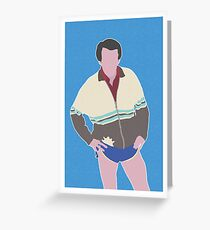 ALAN PARTRIDGE  Greeting Card