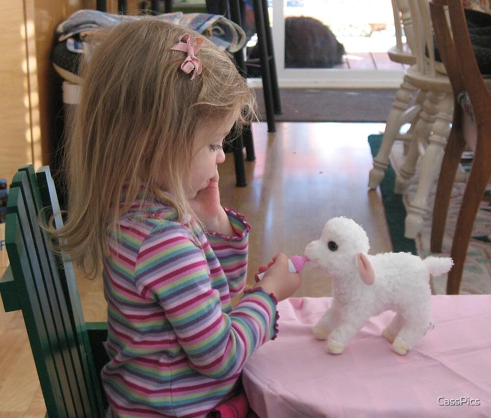Ellie Had a Little Lamb by CassPics
