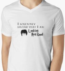 I Solemnly Swear Men's V-Neck T-Shirt