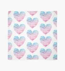 Heart of the sea - Watercolor Scarf