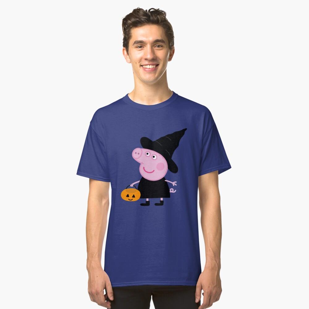 Peppa pig halloween Classic T-Shirt Front