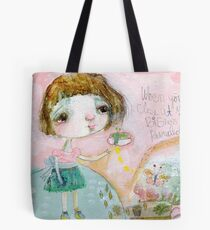 Butterfly Hill Tote Bag