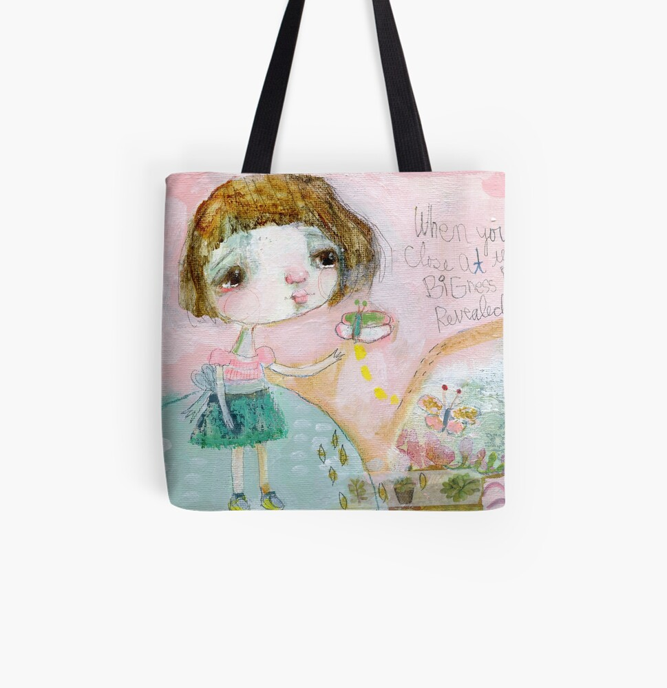 Butterfly Hill All Over Print Tote Bag