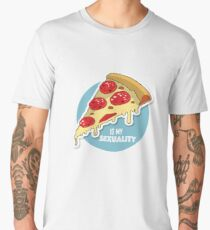 Pizza is my Sexuality  Men's Premium T-Shirt
