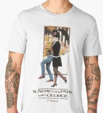 Sunday in the Park with George Musical  Men's Premium T-Shirt