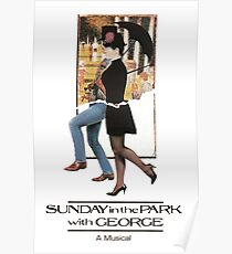 Sunday in the Park with George Musical  Poster