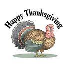 Thanksgiving Turkey by MacKaycartoons