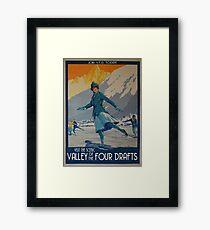 V.F.D. Propaganda: Valley of the Four Drafts Framed Print