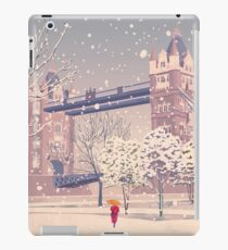 Tower Bridge in the Snow iPad Case/Skin