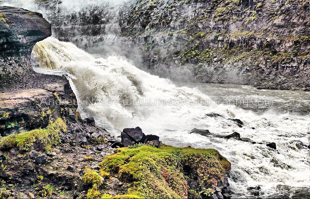 Flowing Waters of Iceland by Andrew Ness - www.nessphotography.com