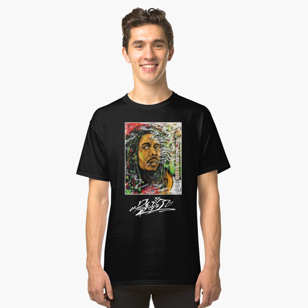 God Marley Classic T-Shirt Front