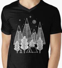 Camp Line Men's V-Neck T-Shirt