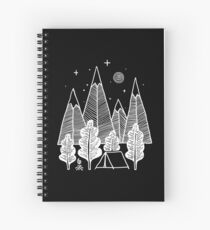 Camp Line Spiral Notebook