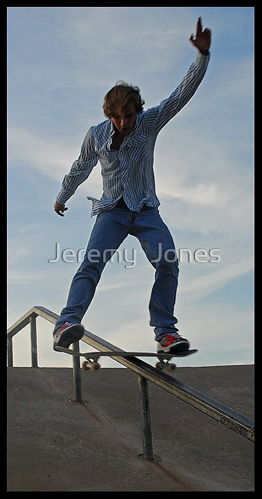 WHAAA HOOO Boardslide!! by Jeremy  Jones