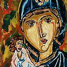 Virgin Mary Eleusa by Lidiya