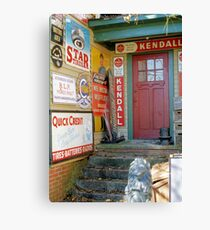 The Garage Canvas Print