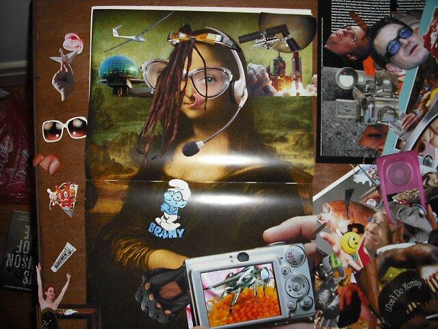 """Mona Lisa on Ketamine""......work in progress by atomikboy"